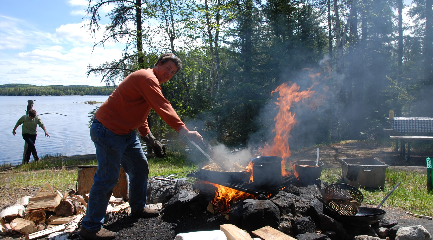 Loch island lodge loch island lodge camp lochalsh for Ontario fishing lodges and resorts