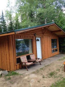 Camp Lochalsh Cabin 3 Outside 2016