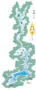 Wabatongushi Lake Map - small