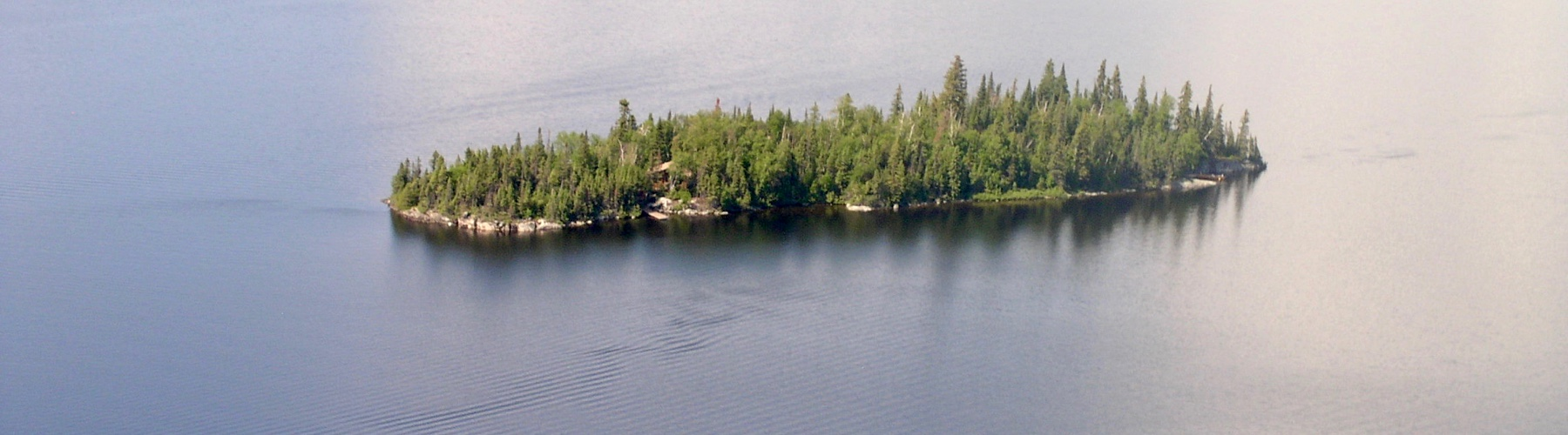 Otter Island from Air