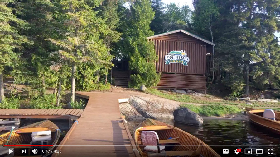 New Loch Island Lodge Tour Video